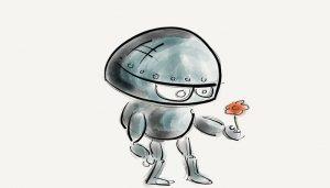 Robot-skaliert